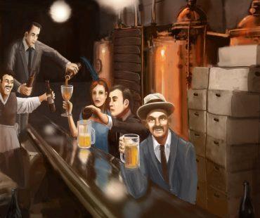 Illegal Distillery