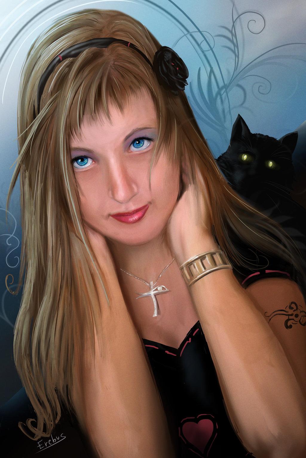 My wife Tizzy