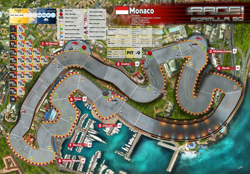 Race! – Monaco track