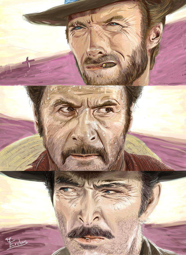 Tribute to Sergio Leone: the Good the Bad the Ugly