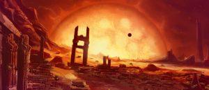 Ashworld sci-fi landscape
